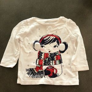 Gymboree long sleeve tee